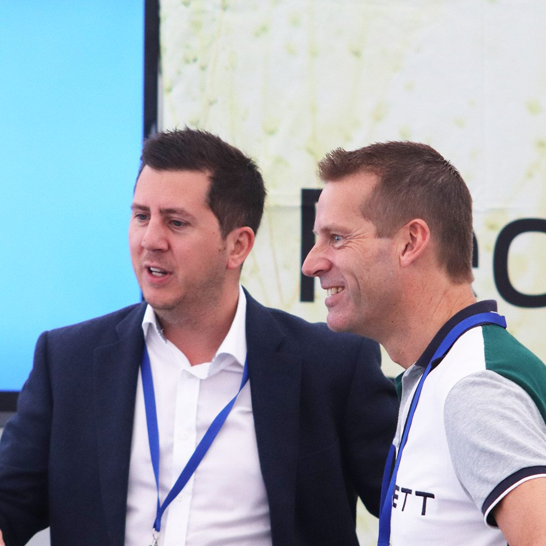 delegates-talking